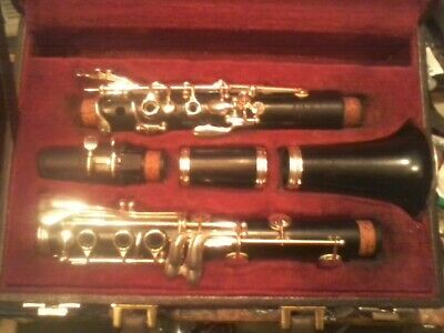 Great Playing Wooden Schreiber Limited Clarinet Model Wsle-S Recent Repad