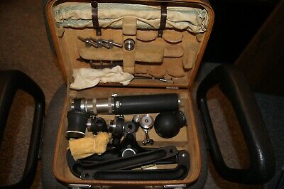 Zeiss closeup/microscope set in original suitcase