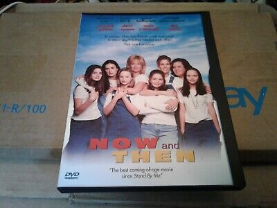 Now and Then dvd widescreen and full screen snap case