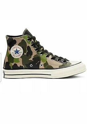 Converse Chuck Taylor All Star 70 Hi Duck Camo mGinger various sizes 163407C