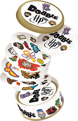 Asmodee ASMDOBHP01EN Harry Potter Dobble, Mixed Colours