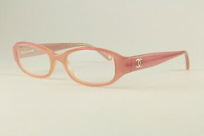 Authentic Chanel Glasses 3079 Light Pink 48mm Oval Frames Eyeglasses RX
