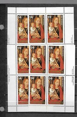 pk44488:Stamps-Canada #774 Christmas 14 cent Plate Block Set - MNH