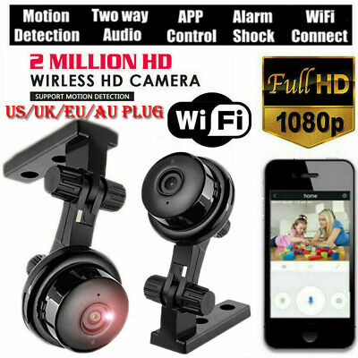 HD 1080P Wireless Camera Mini Night Vision Security Home WIFI IP  Camera Smart