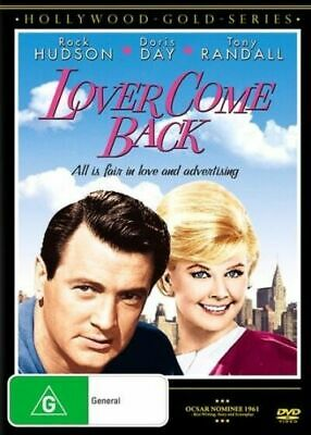 Lover Come Back DVD DORIS DAY Rock Hudson Tony Randall BRAND NEW R4