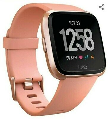 Fitbit Versa Smart Watch, One Size (S & L Bands Included) new!!!!