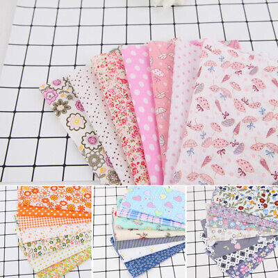Crafts Cotton Fabric DIY Bundle Patchwork Quilting Sewing  handmade Scrapbook