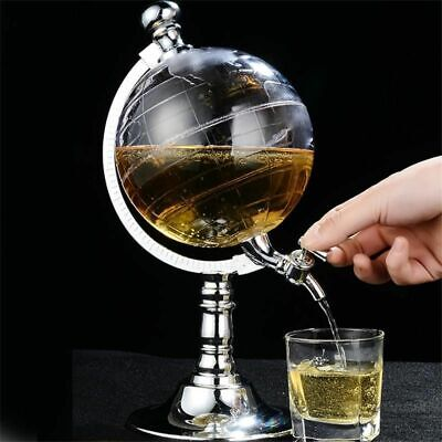 Globe Style Liquor Dispenser Bar Novelty Drinking Alcohol Pouring Machine Pump