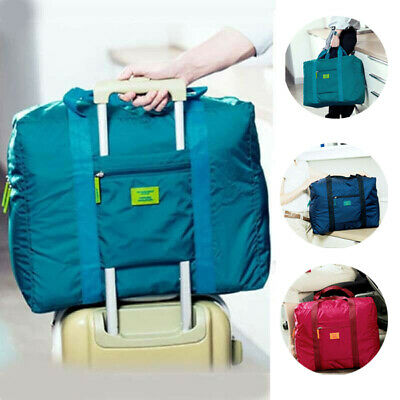 Portable Foldable Travel Luggage Baggage Storage Carry-On Duffle Bag