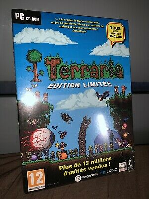 Terraria - Collector's Edition (PC CD) NEUF SOUS BLISTER