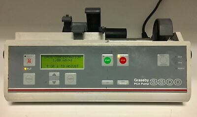 Graseby - 3300 - PCA Pump - Automatic Syringe Driver Infusion - No Shelter
