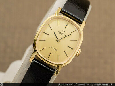 Omega De Ville Ladies Cal.625 1979 Manual Hand Wind Authentic Womens Watch Works
