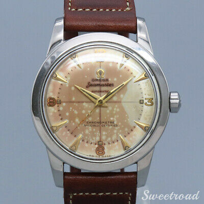 Omega Seamaster Chronometer Ref.C2577-3 1950s Automatic Authentic Men Watch Work