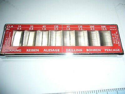 'RUBERT & Co.Ltd' POCKET SURFACE ROUGHNESS REAMING/DRILLING SCALE No:121 (4332)
