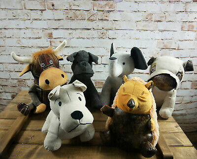 Novelty Animal Door Stopper Heavy Filled Fabric Stop Home Decor Weighted Wedge