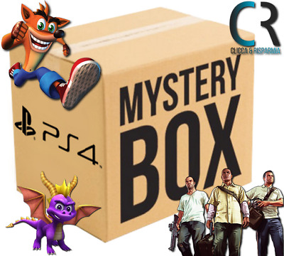 Mystery Box Scatola Sorpresa Giochi Sigillati Sony Play Station 4 Mistery Ps4