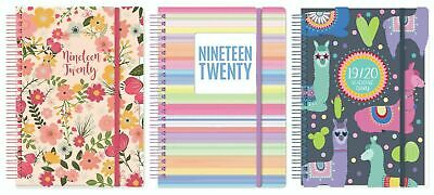 2019-2020 Academic Mid Year A5 One Day To a Page Student Diary Spiral Wire Bound