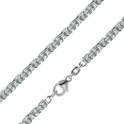 Trendor Jewellery King's Chain Silver 925 Necklace Thick 3,2 mm 75144
