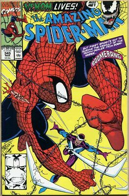 Amazing Spider-Man #345 - VF - 1st Full Appearance Of Cletus Kasady (Carnage)
