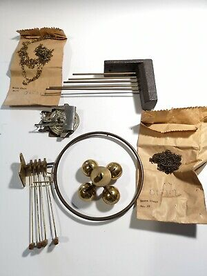 Job Lot Mixed Clock Parts Useful Spares For Clock Repair (A31)