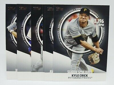 2019 Topps Series 2 Significant Statistics Insert You Pick & Complete Your Set
