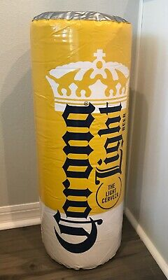 "CORONA LIGHT Blow-Up Cerveza Beer Can 29"" Inflatable"