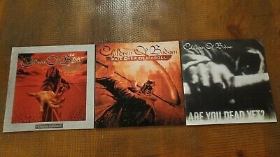 CHILDREN OF BODOM 3 ok! CDS 2005 ARE YOU DEAD? 2003 HATE CREW DEATHROLL 2002 DLX