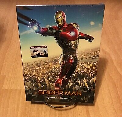 Spider-Man: Homecoming 3D & 4K Full Slip #3 SteelBook Film Arena FAC (Czech)