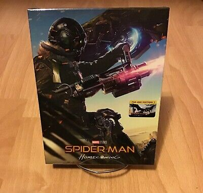 Marvel Spider-Man: Homecoming 3D Full Slip #1 SteelBook Film Arena FAC (Czech)