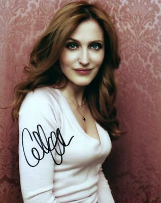 Gillian Anderson 8x10 Signed Photo Autographed Picture with COA