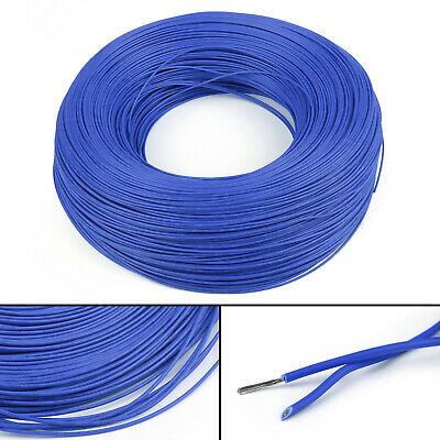 20M Blue Flexible Stranded UL1007 20AWG Electronic Wire PVC Cable 300V ROHs CA