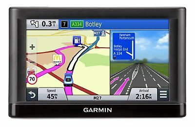 "5"" GARMIN nüvi® 56LM UK & Ireland + EUROPE GPS Sat Nav, Latest SOUTH AMERICA Map"