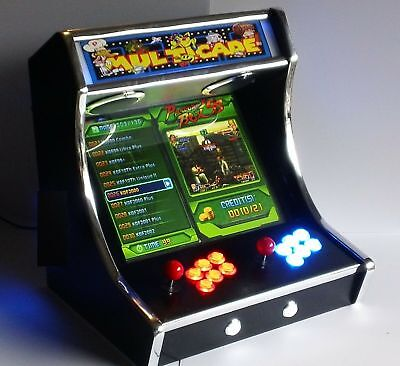 Brand new! Golden multicade bar top arcade machine 1299 games