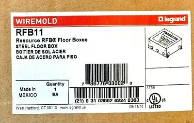 NEW Wiremold RFB11