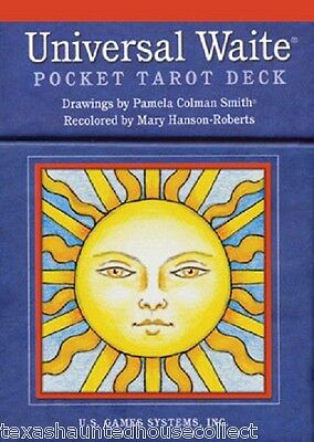 Universal Waite Pocket Box Tarot Deck Cards Booklet Inspiration Oracle