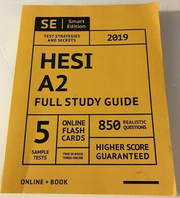 Hesi A2 Full Study Guide 2019 Complete Subject Review with 5 Sample Tests