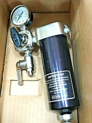 Binks 86-940 Air Regulator & Water Moisture Separator For Air Compressor
