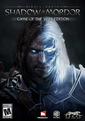 Middle-earth: Shadow of Mordor GOTY Steam Game PC Cheap