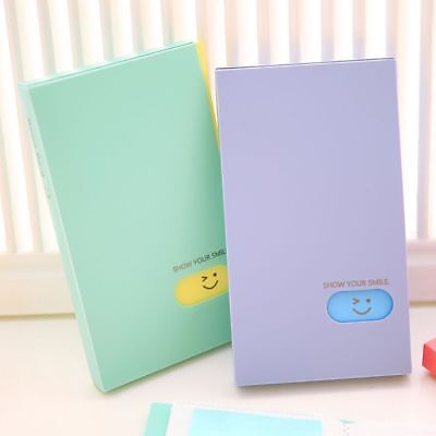 Large Capacity Photocard Book Lomo Card Holder Stock Photo Collection Album