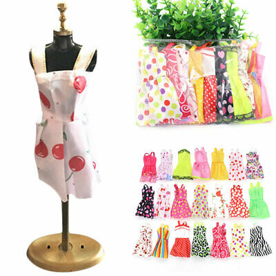 Handmade Summer Dress Wedding Party Clothes For Barbie Dolls 10 different styles