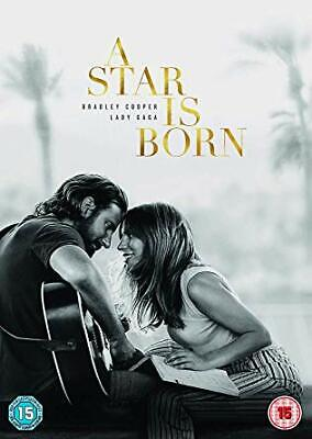 A Star is Born  [2019] [DVD]  Lady Gaga, Bradley Cooper,Andrew Dice Fast&FreeP&P