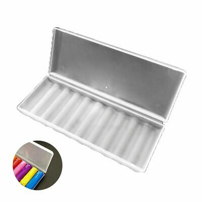 1//5//10Pcs Plastic Translucent Case Holder Storage Boxes for AA AAA Battery BSER