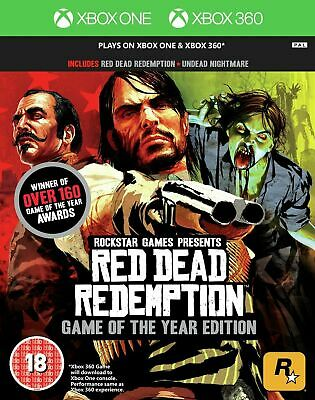 red dead redemption game of the year xbox one xbox 360