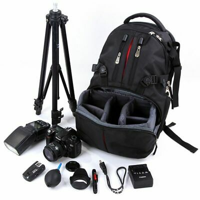 DSLR Camera Bags Waterproof Backpack Case For Nikon Sony Canon Camera
