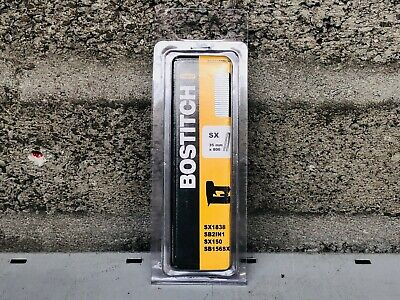 Bostitch SX503535CS Finish Staple 35mm Fastener Staples (800) Galvanised