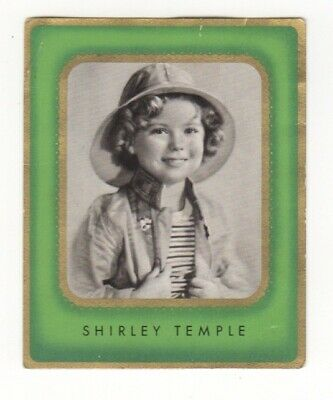 Shirley Temple Cigarette Card