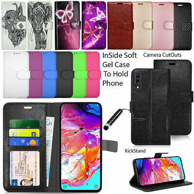 For Samsung Galaxy A20e A70s A60 A40 A10 A50 A2 Phone Case Wallet Leather Cover