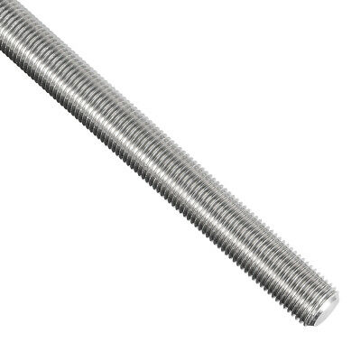 M12x1.25mmx250mm Fully Threaded Rod 304 Stainless Steel Right Hand Threads