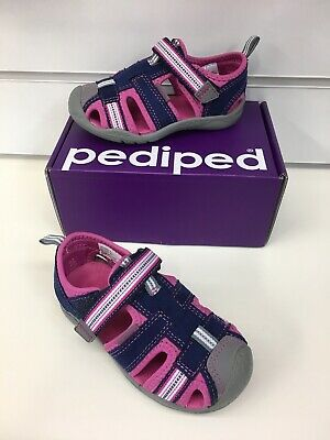 Pediped Sahara Sandals In Navy  ,Vegan friendly, Watersafe was £38 now £24.90