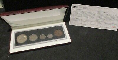 1998 Canada 90th Anniversary Sterling Silver Coin Set - Original Package/COA